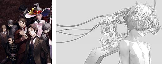 「屍者の帝国」キャラクター原案・redjuice 描き下ろしBOXとデジパックのイラストを公開!